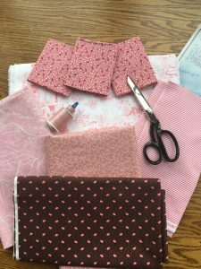 fabric for pink Prairie Queen quilt